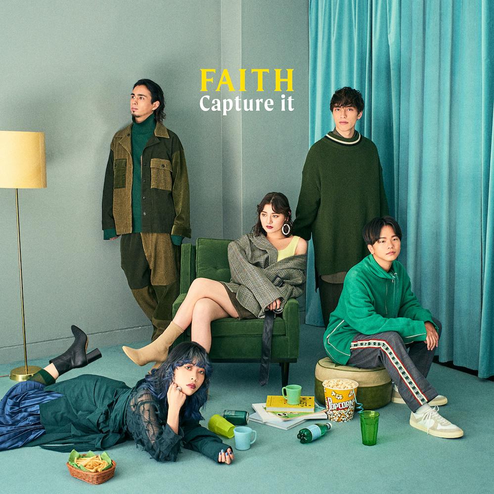 Major 1st Full Album「Capture it」